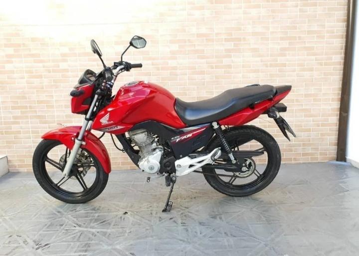 Rifa da moto cg 160 fan 20 reais